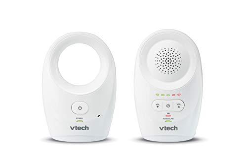 VTech - Babyphone Classic - faible émission d'ondes, portée de 460 mètres - BM1120 - Version FR