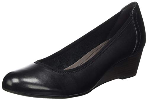 Tamaris Damen 1-1-22320-24 Pumps, Schwarz (Black 001), 41 EU