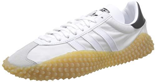 adidas Countryxkamanda, Zapatillas de Gimnasia para Hombre, Blanco (FTWR White/FTWR White/Gum 3 FTWR White/FTWR White/Gum 3), 44 2/3 EU