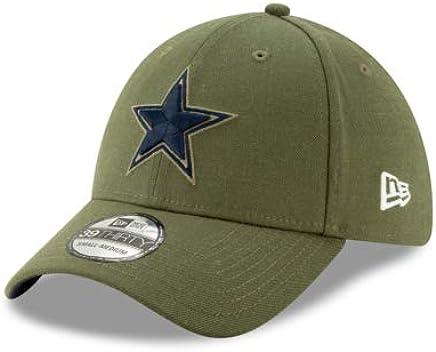 af6e6986e532a Amazon.com   Dallas Cowboys New Era Salute to Service 39Thirty Cap   Sports    Outdoors