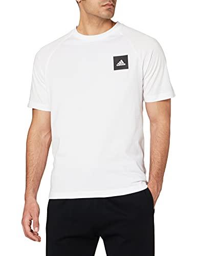 adidas Mhe Tee Sta, T-Shirt Uomo, White, 2XL