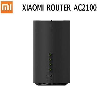 أجهزة التوجيه اللاسلكية - الأصلي لجهاز Xiaomi Mi Router AC2100 Gigabit Ethernet Port Dual التردد WiFi 2. 4G 5G 360° تغطية ...