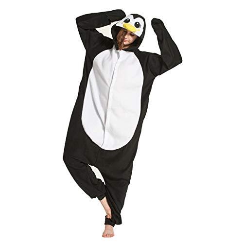 JBDGNZ Pijama para Mujer, Pijama de Oso de Animal de Dibujos Animados, Ropa para el hogar, Polar, Franela, Parejas para Pijamas, Mono de Cosplay de Halloween, Azul, L
