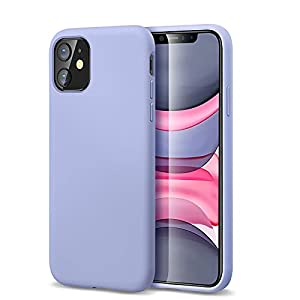 ESR Yippee Color Soft Designed for iPhone 11 Case, Liquid Silicone Rubber Cover [Comfortable Grip] [Screen & Camera Protection] [Velvety-Soft Lining] [Shock-Absorbing] for iPhone 11, Purple