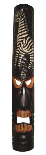 Edle 100 cm Gesicht Maske Zebra Tier Afrika Maske24