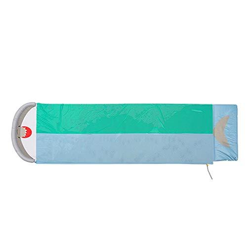 Huaxingda Desplazamiento Y Deslizamiento Tobogán Acuático 18ft Water Fun Tobogán Acuático con Almohadilla Inflable Tobogán Acuático Slip Slide con Dos Carriles