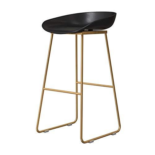 Keukenvoetensteun, moderne barstoel, met rugleuning voor keuken/kroegen, barkruk poten, vrijetijdsbeklede eetkamerstoelen 75cm