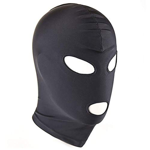 Elastic Fabric Face Mask for Adult, Role Playing Mask for Party Games (Style 4)