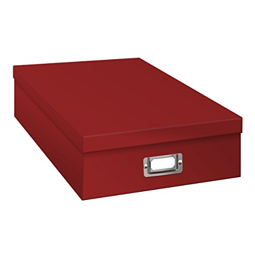 Pioneer Jumbo Scrapbook Storage Box, Red