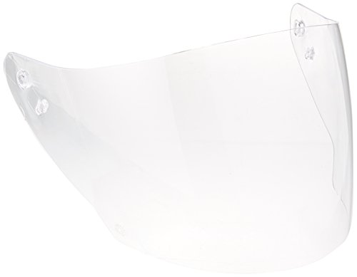 HJC Helmets HJ-17J Unisex-Adult Anti-Scratch Replacement Face Shield (Clear, One Size)