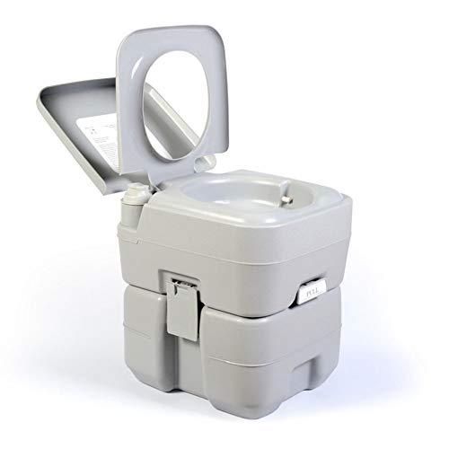 Acampar WC 20L portátil de Viaje al Aire Libre inodoros Sitio móvil...