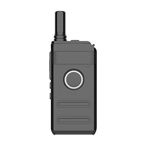 LIUGUANJIANG Mini walkie-Talkie USB Ultrafino de Alta Potencia de Carga Profesional para hostelería Mini pequeño walkie-Talkie Mesa de Mano para Turismo autodirigido