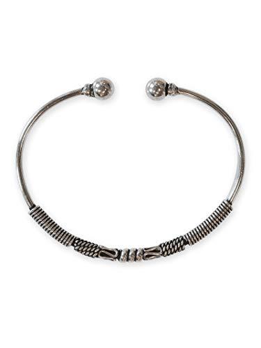 Fly Style Armreif Armspange aus 925 Silber für Damen und Herren im Mittelalter Design