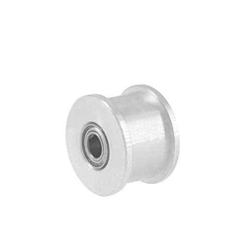 SANKUAI LT-3d, 1pc XL 20T Idler Pulley Without Teeth Bore 5/6/7/8/10/12/15mm Synchronous Pulley Wheel Width 11mm Idler Timing Pulley (Color : 7mm, Size : 11mm)