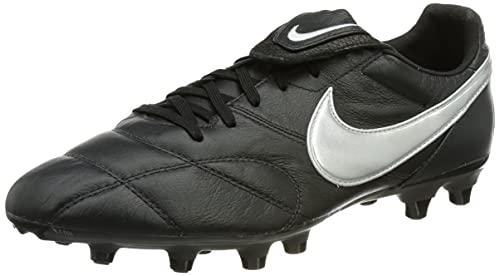 Nike The Premier II FG Fussballschuh, Off Noir MTLC Silver Black, 38 EU