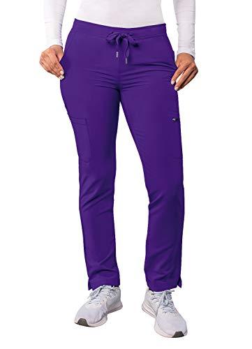 Adar Adición Fregar por Mujeres - Flaca Pierna Cargamento Cordón Fregar Pantalones - A6104 - UVA - XXS