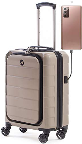 Valise Cabine Rigide ALPINI INOVA-2.0 avec Compartiment...
