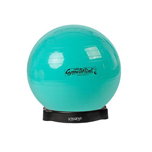 PEZZI Original Pezziball Standard 65 cm m. Ballschale Kombi Gymnastikball grün