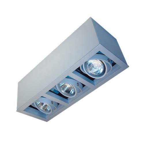 CLE Kardan LED/Halogen Aufbauleuchte YK3-NV-AB max. 3x 50W 12V