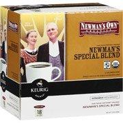 Keurig   キューリグ  K-カップ  ニューマンオウン  オーガニックスペシャルブレンド18個 並行輸入品