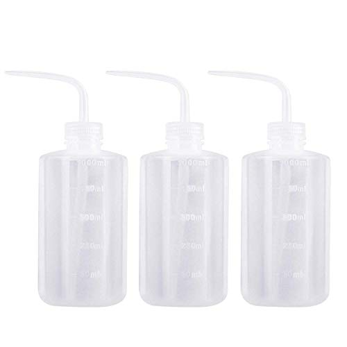 Axe Sickle 3pcs Plastic Safety Squeeze Bottle 1000 mL Wash Bottle Watering Tool, Lab Tip Liquid Storage, 32oz / 3 Bottle.