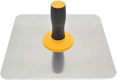 TXYFYP Enlucido Halcón, Aluminio Yesos Halcón con Mango, Pladur Halcón Herramienta - como Es Se Muestra, 300x35x2mm