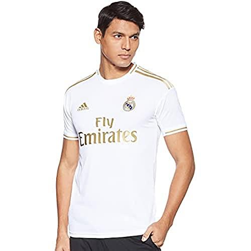 adidas Real Madrid 2019/2020 Camiseta, Hombre, Blanco (1ª Equipación), L