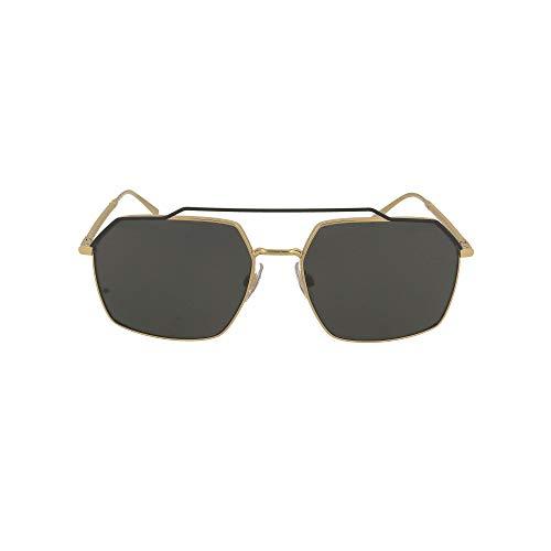 Dolce e Gabbana Moda De Lujo Hombre 2250SOLE126887 Multicolor Metal Gafas De Sol | Temporada Permanente