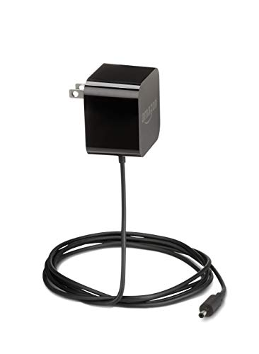 Amazon Echo Power Adapter 15W Black: Echo Dot (3rd Gen), Echo Dot with Clock, Echo Show 5, Echo Spot, Fire TV Cube