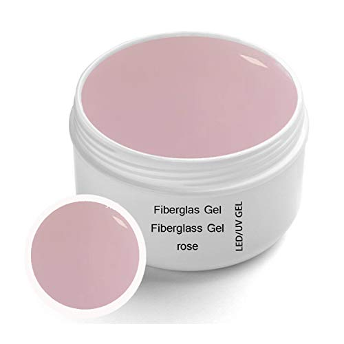 UV Fibreglass Rosa transparente 30 ml - Linea Premium Gel - finitura, corporatura, adesivo – Top Coat – Monofase Gel