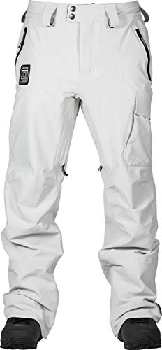 L1 Gemini Pnt´21 - Pantalones de Nieve para Hombre, Hombre, Pantalones para Nieve, 1211-873726-3003, Ghost, Extra-Large