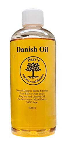 Danish Oil Schneidebretter und Holzarbeiten, 500 ml, frei von Voc und Giftstoffen, 500 ml