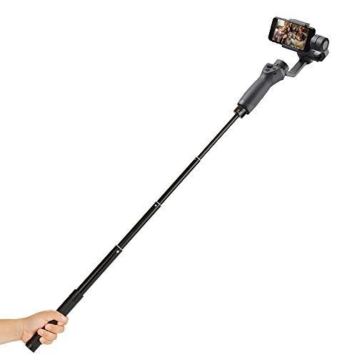 Uitbreiding Paal voor Gimbal Stabilizer Verstelbare Lengte Inklapbare Handheld Monopod Bar 29 inch 1/4
