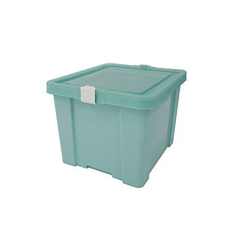 Tramontina Basic Caixa Organizadora com Tampa em Plástico, 30 litros, Verde