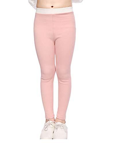 Niñas Leggings Elástica Pantalones De Lápiz De Cintura para 8-14 Años
