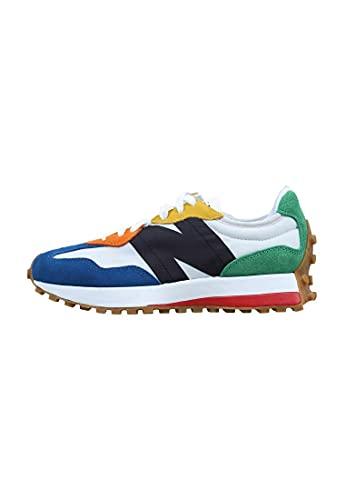 New Balance Zapatillas para Hombre MS327PBA_44,5, Color Blanco, 44,5 EU