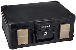 Honeywell Safes & Door Locks - 6113 Deluxe Key Lock Cash Box, 0.23-Cubic Feet, Black Improved