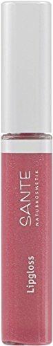 SANTE Naturkosmetik Lipgloss No. 03 peach pink, 10ml