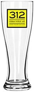 312 Urban Wheat Ale Goose Island Brewery Beer Glass