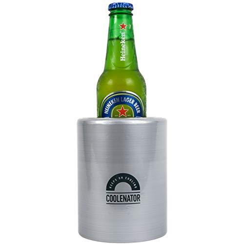 Coolenator Nr. 1 Coolster Kühler für Bier, Erfrischungsgetränke, Dosen und Flaschen – Kühlt Getränke aktiv für bis zu 4 Stunden – Platz für Dosen, Bier und Erfrischungsgetränke mit 355ml Volumen –