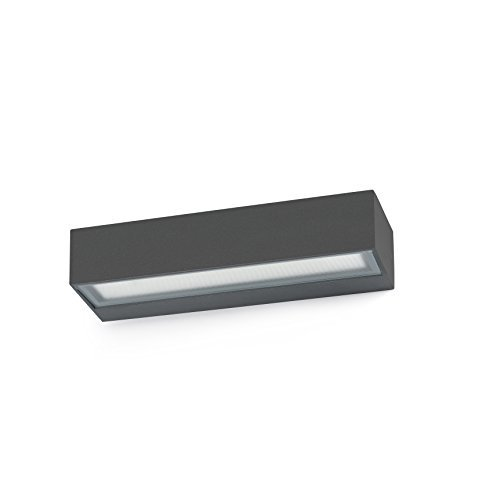 Faro Barcelona 71050 TOLUCA LED Lampe applique gris foncé