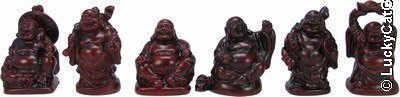 india Set von Mini Buddhas