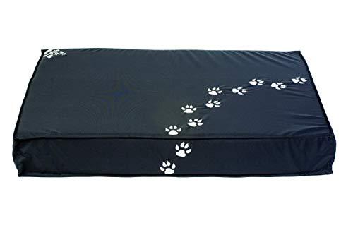 Sitonit Doggie Style zitzak, stof, donkergrijs, 100 x 65 x 15 cm