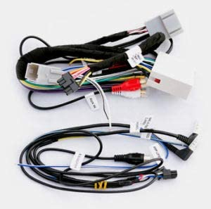 Carxtc Car Radio Electronic Wire Harness and Integrated Steering Wheel Control for Installing an Aftermarket Stereo, Fits Ford