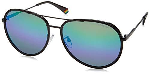 Polaroid PLD 6116/G/S lunettes de soleil, BLUE GRN, 61 Homme