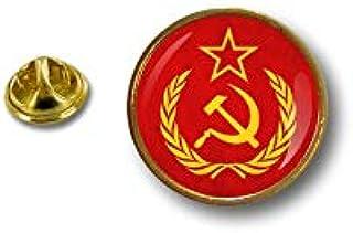 Spilla Pin pin's Spille spilletta Giacca Comunista Bandiera Russa URSS CCCP r6