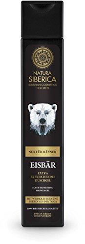 Natura Siberica Eisbär Extra erfrischendes Duschgel, 2er Pack (2 x 250 ml)