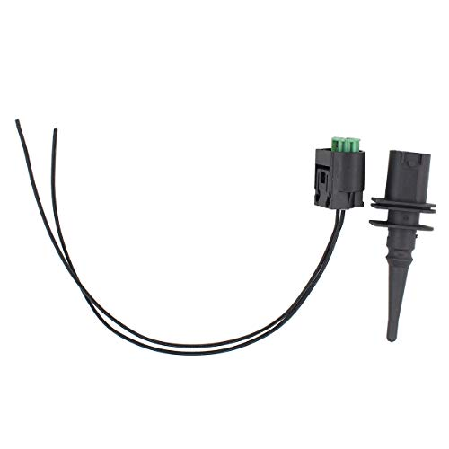 NewYall Outside Ambient Air Temperature Temp Sensor and Plug Wire Connector Pigtail