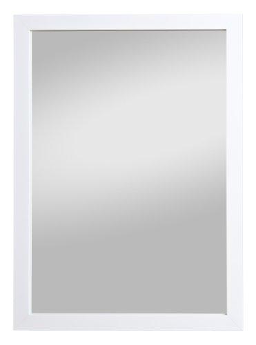 Spiegelprofi H0280146 Rahmenspiegel Kathi, 48 x 68 cm, weiß Glanz