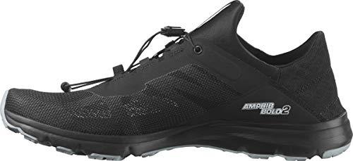 SALOMON Amphib Bold 2 Sneaker, Black/Black/Quarry, 6.5 UK